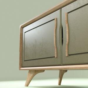 Meuble télé design 120 cm Bernadette made in ici